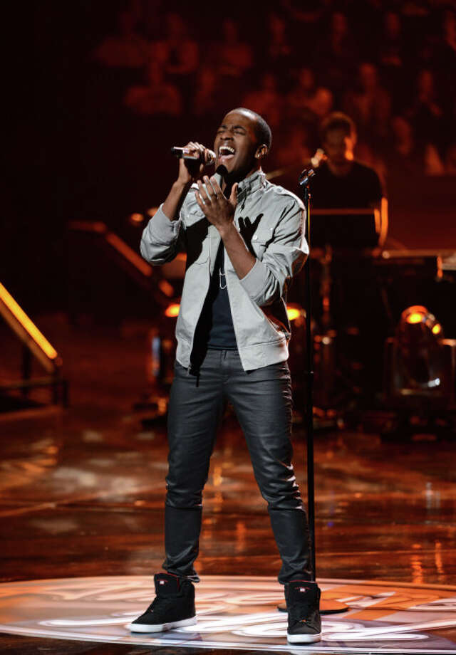 AMERICAN IDOL: Cortez Shaw in the Sudden Death Round of AMERICAN IDOL airing Thursday, Feb. 28 (8:00-10:00PM ET/PT) on FOX. CR: Michael Becker / FOX. Copyright / FOX.