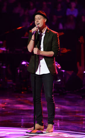 AMERICAN IDOL: Nick Boddington in the Sudden Death Round of AMERICAN IDOL airing Thursday, Feb. 28 (8:00-10:00PM ET/PT) on FOX. CR: Michael Becker / FOX. Copyright / FOX.