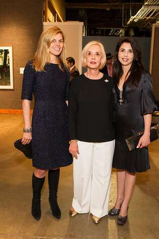 Annie Woods, Peggy Newton and Candace Cavanaugh at SFMOMA's Collectors' Preview Party on February 28, 2013. Photo: Drew Altizer Photography
