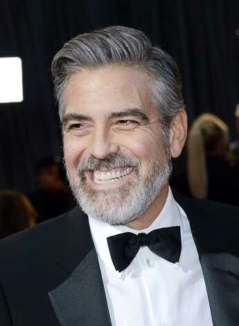Actor/Producer George Clooney arrives at the Oscars at Hollywood & Highland Center on February 24, 2013 in Hollywood, California. Photo: Michael Buckner, Getty Images / 2013 Getty Images