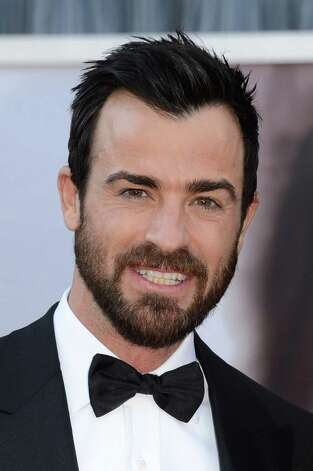 Actor Justin Theroux arrives at the Oscars at Hollywood & Highland Center on February 24, 2013 in Hollywood, California. Photo: Jason Merritt, Getty Images / 2013 Getty Images
