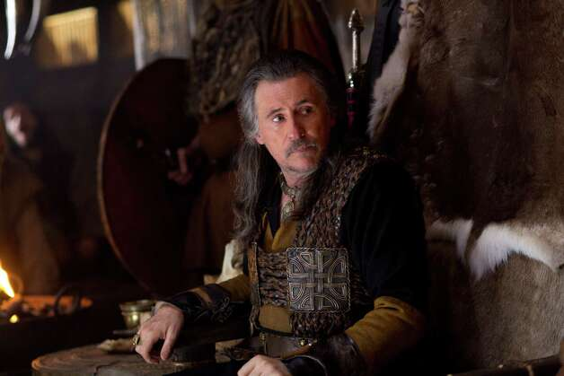 "This image released by History shows Gabriel Byrne as Earl Haraldson in a scene from ""Vikings,"" premiering Sunday, March 3 on History. (AP Photo/History, Jonathan Hession) Photo: Jonathan Hession"
