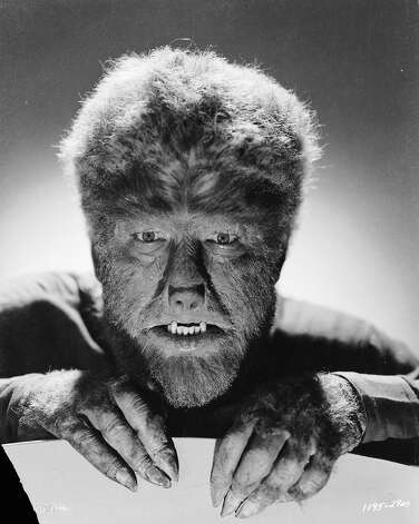 "Lon Chaney Jr. stars as Larry Talbot in 'The Wolf Man,"" in 1941. Photo: John Kobal Foundation, Getty Images / Moviepix"