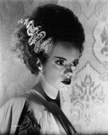 English actress Elsa Lanchester plays the woman created to be the monster's wife in 'Bride of Frankenstein', directed by James Whale in 1935. Photo: John Kobal Foundation, Getty Images / Moviepix