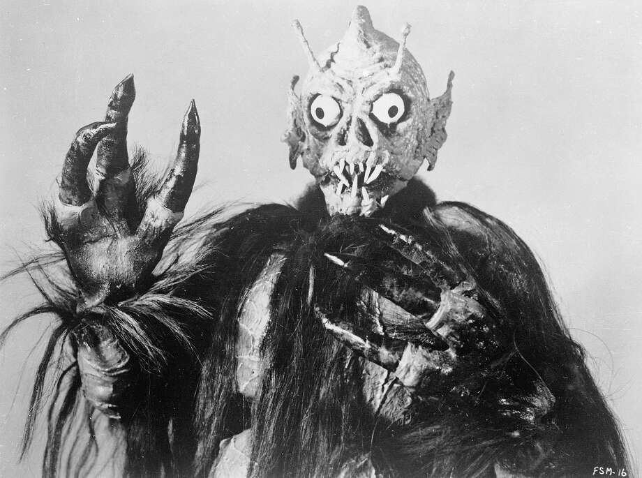 The Space MonsterPromotional still of a monster from the low-budget horror film, 'Frankenstein Meets The Space Monster,' directed by Robert Gaffney, 1965. Photo: Allied Artists, Getty Images / 2003 Getty Images