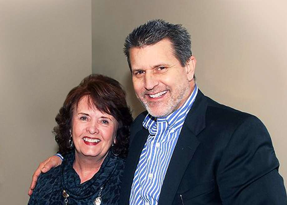 Lynn Breedlove, relocation director, and Mike Huff, owner/broker of Prudential Anderson Properties