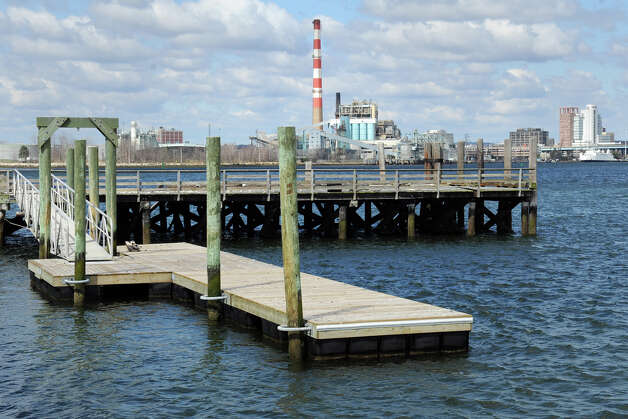 The Jasper McLevy pier on Pleasure Beach, in Bridgeport, Conn. Photo: Ned Gerard / Connecticut Post