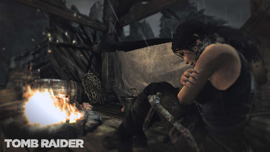 "Play the origin story of Lara Croft in the new gritty and intense ""Tomb Raider."""