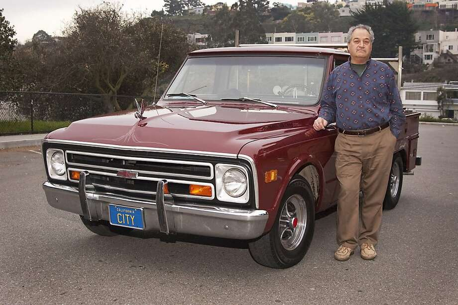 I bought my truck from my boss at Robert J. Neilan Sheet Metal Works in  1972, when I was an apprentice there. Bob commuted from Marin County  every day and drove the truck around San Francisco. Photo: Stephen Finerty, Photograph By Stephen Finerty -