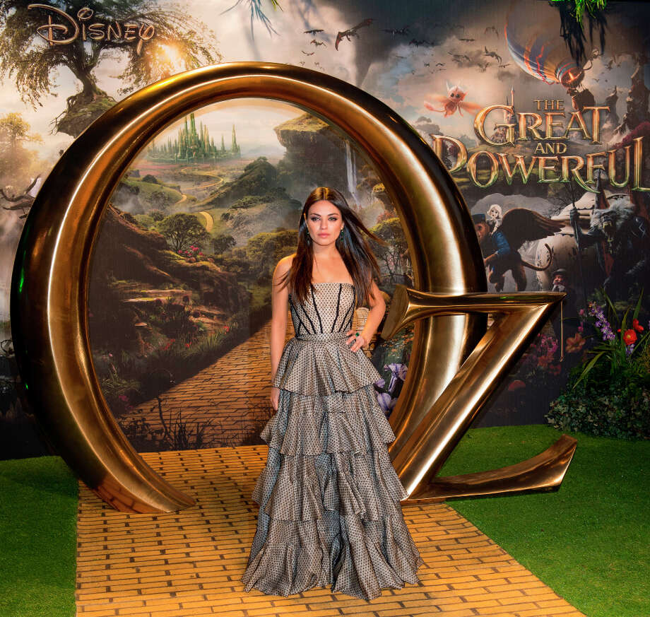 Mila Kunis attends the European premiere of Oz: The Great and Powerful at Empire Leicester Square on February 28, 2013 in London, England. Photo: Mark Cuthbert, UK Press Via Getty Images / 2013 Mark Cuthbert