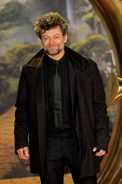 Actor Andy Serkis attends the UK film premiere of 'Oz: The Great and Powerful' at the Empire Leicest