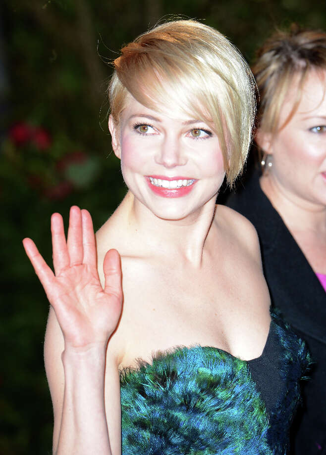 Michelle Williams arrives for the Oz: The Great And Powerful European premiere at the Empire Leicester Square on February 28, 2013 in London, England. Photo: Samir Hussein, Getty Images / 2013 Samir Hussein