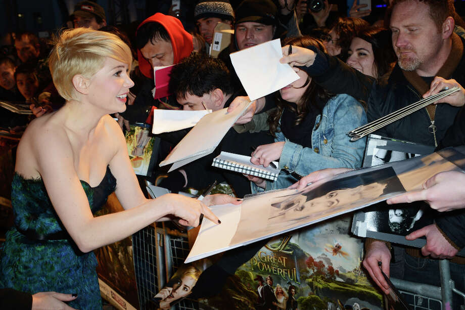 Michelle Williams attends the European premiere of 'Oz: The Great And Powerful' at The Empire Leicester Square on February 28, 2013 in London, England. Photo: Dave J Hogan, Getty Images / 2013 Getty Images