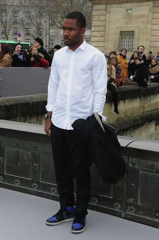 Frank Ocean arrives to attend the Christian Dior Fall/Winter 2013 Ready-to-Wear show as part of Paris Fashion Week on March 1, 2013 in Paris, France. Photo: Pascal Le Segretain, Getty Images / 2013 Getty Images