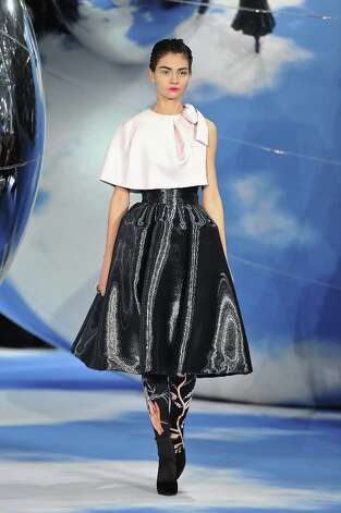 A model walks on the catwalk during Christian Dior Fall/Winter 2013 Ready-to-Wear show as part of Paris Fashion Week on March 1, 2013 in Paris, France. Photo: Pascal Le Segretain, Getty Images / 2013 Getty Images