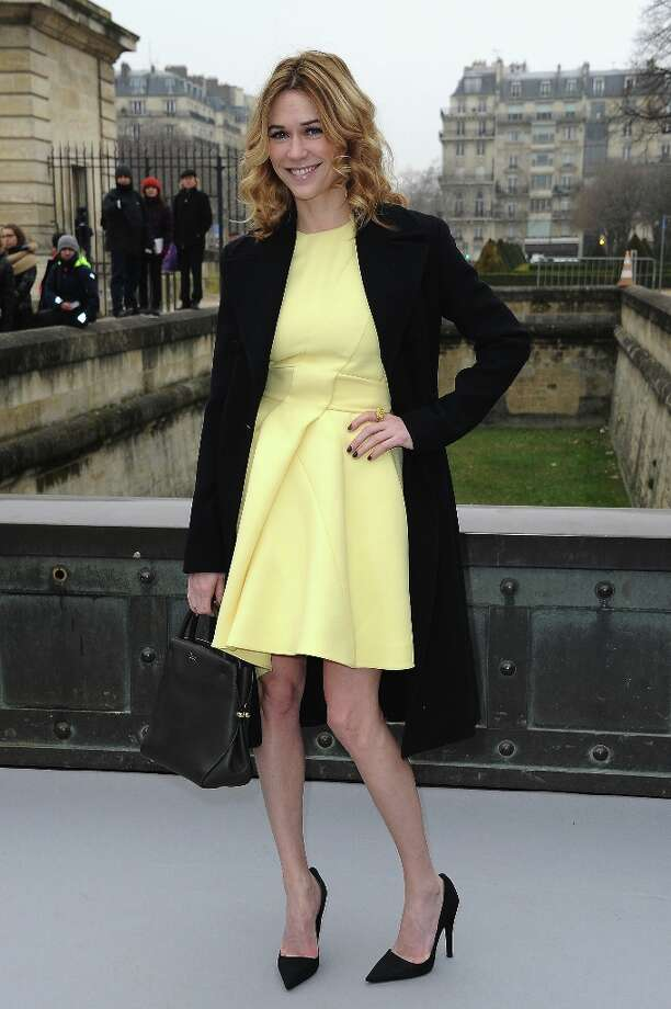 Marie-Josee Croze arrives to attend the Christian Dior Fall/Winter 2013 Ready-to-Wear show as part of Paris Fashion Week on March 1, 2013 in Paris, France. Photo: Pascal Le Segretain, Getty Images / 2013 Getty Images