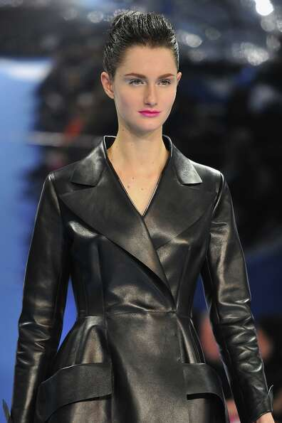 A model walks on the catwalk during Christian Dior Fall/Winter 2013 Ready-to-Wear show as part of Pa