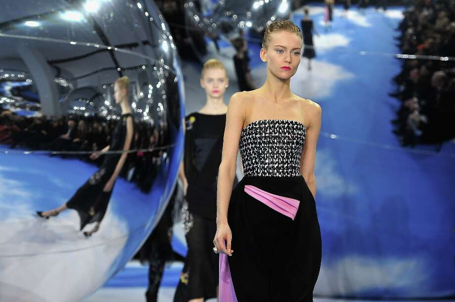 Models walks on the catwalk during Christian Dior Fall/Winter 2013 Ready-to-Wear show as part of Paris Fashion Week on March 1, 2013 in Paris, France. Photo: Pascal Le Segretain, Getty Images / 2013 Getty Images