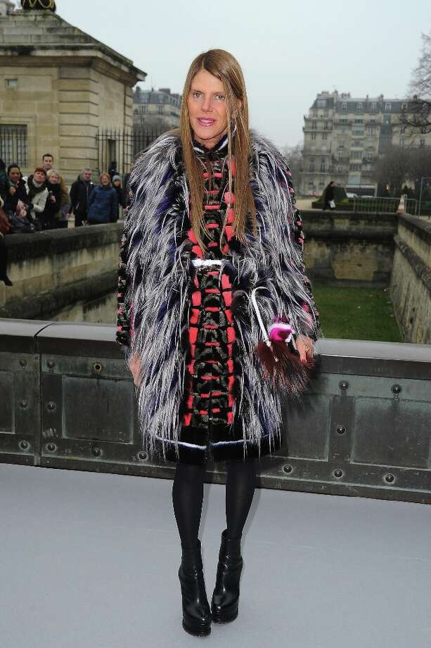Anna Dello Russo arrives to attend the Christian Dior Fall/Winter 2013 Ready-to-Wear show as part of Paris Fashion Week on March 1, 2013 in Paris, France. Photo: Pascal Le Segretain, Getty Images / 2013 Getty Images