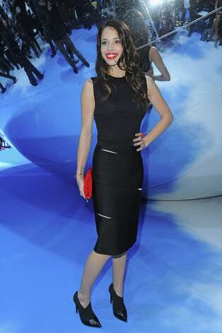 Chelsea Tyler attends the Christian Dior Fall/Winter 2013 Ready-to-Wear show as part of Paris Fashion Week. Photo: Pascal Le Segretain, Getty Images / 2013 Getty Images