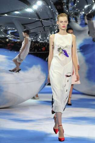 Models walk on the catwalk during Christian Dior Fall/Winter 2013 Ready-to-Wear show as part of Paris Fashion Week on March 1, 2013 in Paris, France. Photo: Pascal Le Segretain, Getty Images / 2013 Getty Images