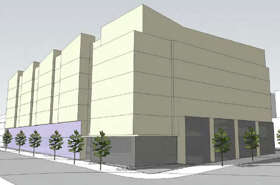 An artist's rendering of the proposed Eighth & Thomas building. Photo from developer's filings with
