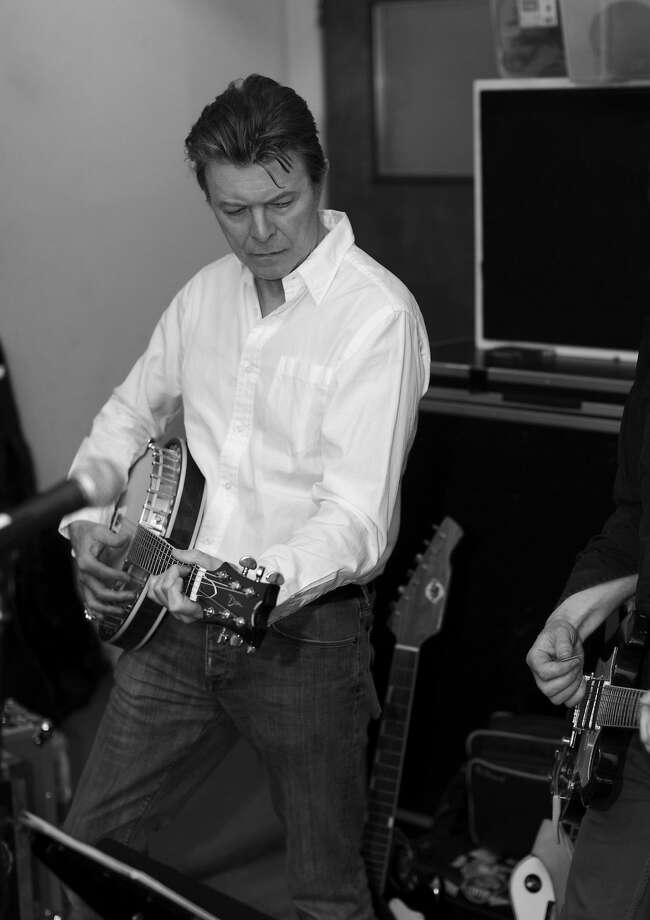 David Bowie, 2013. Photo: Jimmy King, Columbia