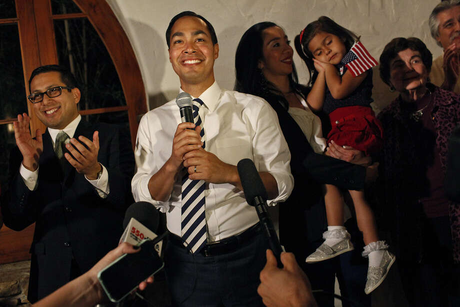 Mayor Julián Castro thanked his supporters and staff as results for the Pre-K 4 SA campaign came in after the election. Readers question whether the program was as well thought out as it should have been. Photo: Lisa Krantz, San Antonio Express-News