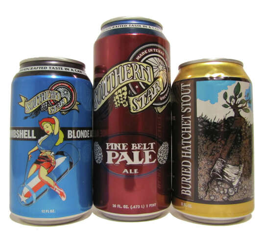 Offerings from Conroe's Southern Star Brewery Photo: Courtesy