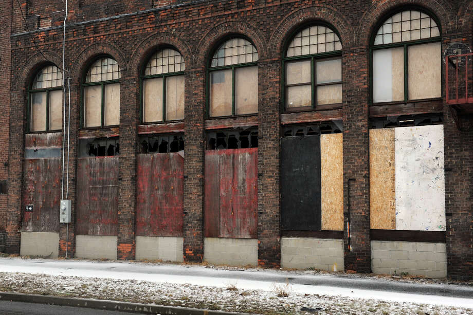 62 & 80 Cherry Street, in Bridgeport, Conn., Jan. 28th, 2013, where Cherry Street Holing, LLC would like to built residential apartments. Photo: Ned Gerard