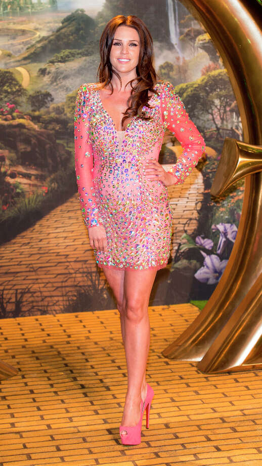 Danielle Lloyd attends the European premiere of Oz: The Great and Powerful at Empire Leicester Square on February 28, 2013 in London, England. Photo: Mark Cuthbert, UK Press Via Getty Images / 2013 Mark Cuthbert