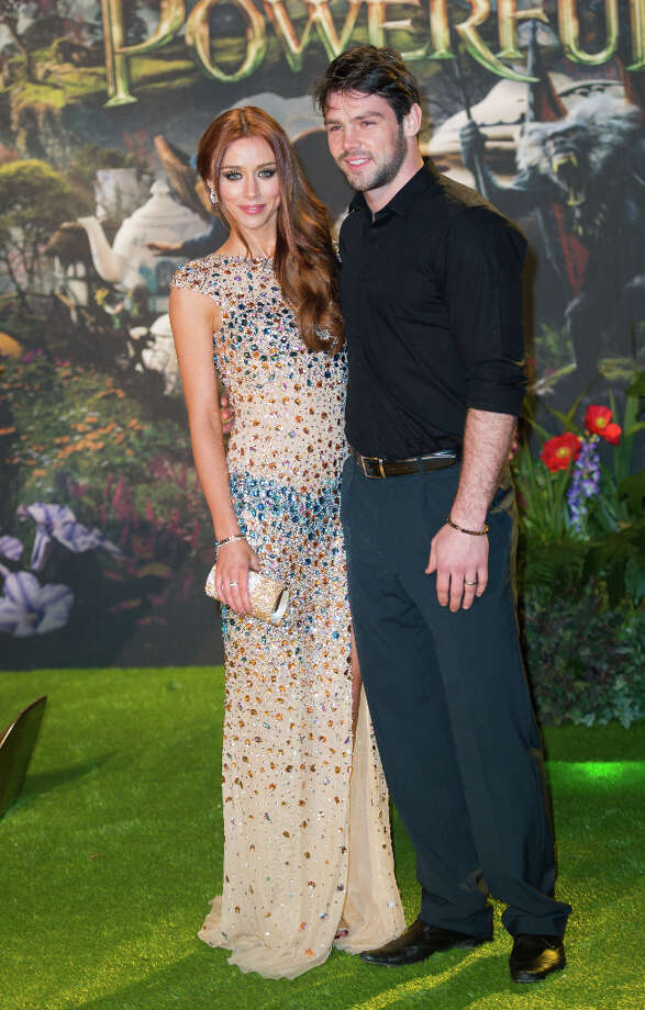 Ben Foden and Una Healy for the Oz: The Great And Powerful European premiere at the Empire Leicester Square on February 28, 2013 in London, England. Photo: Samir Hussein, Getty Images / 2013 Samir Hussein