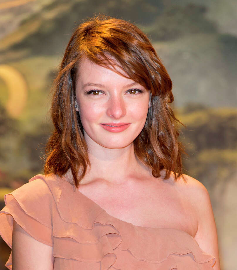 Dakota Blue Richards attends the European premiere of Oz: The Great and Powerful at Empire Leicester Square on February 28, 2013 in London, England. Photo: Mark Cuthbert, UK Press Via Getty Images / 2013 Mark Cuthbert