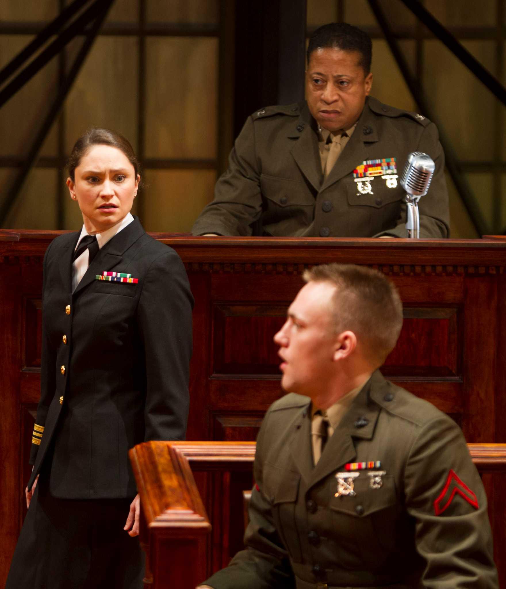 Courtroom conflict - big surprises and suspense ...