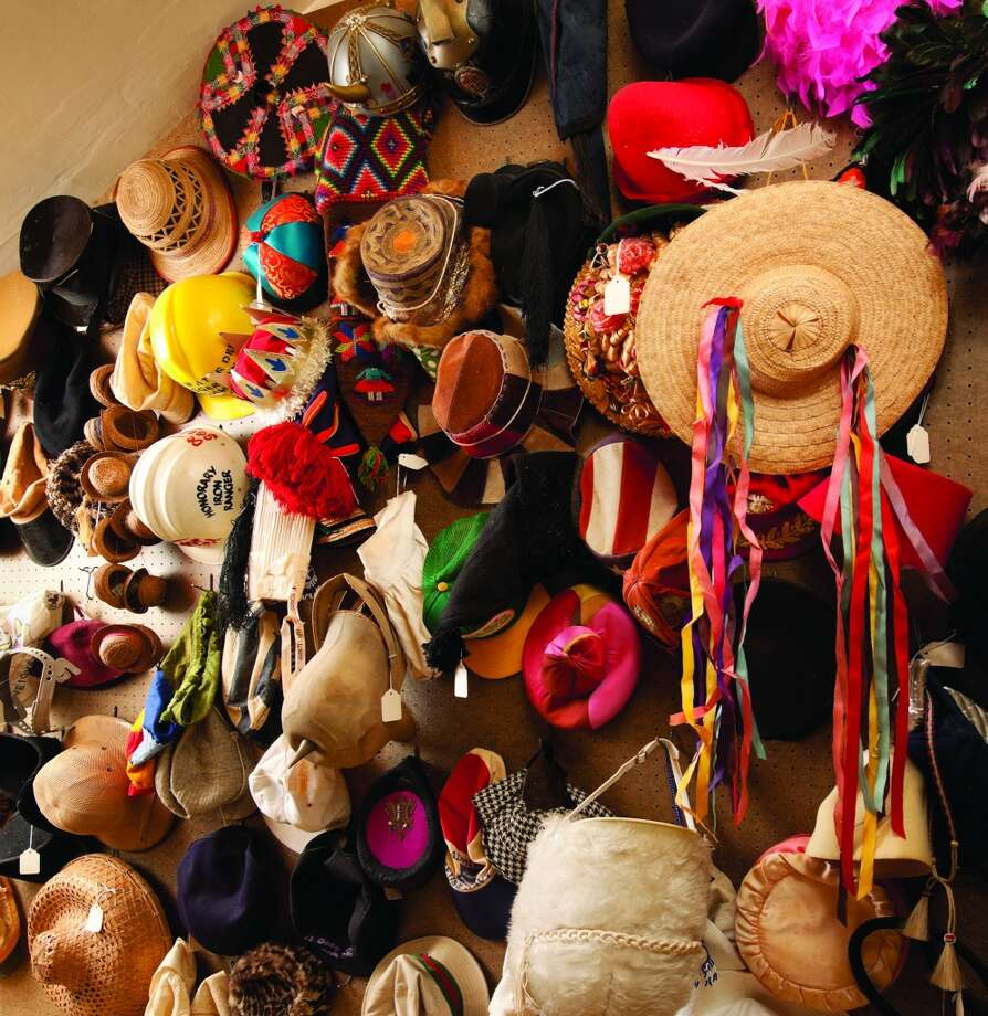 Dr. Seuss' closet was filled with hundreds of hats.
