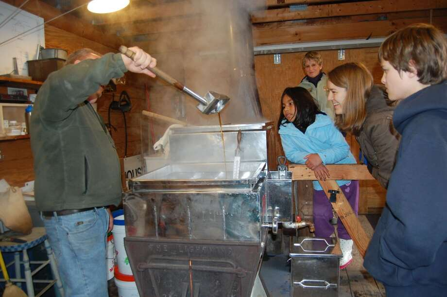 See firsthand how sap is turned into sweet maple syrup at The Stamford Museum & Nature Center's Maple Sugar Festival Weekend on Saturday and Sunday, March 2 and 3, 2013 in Stamford, Conn.