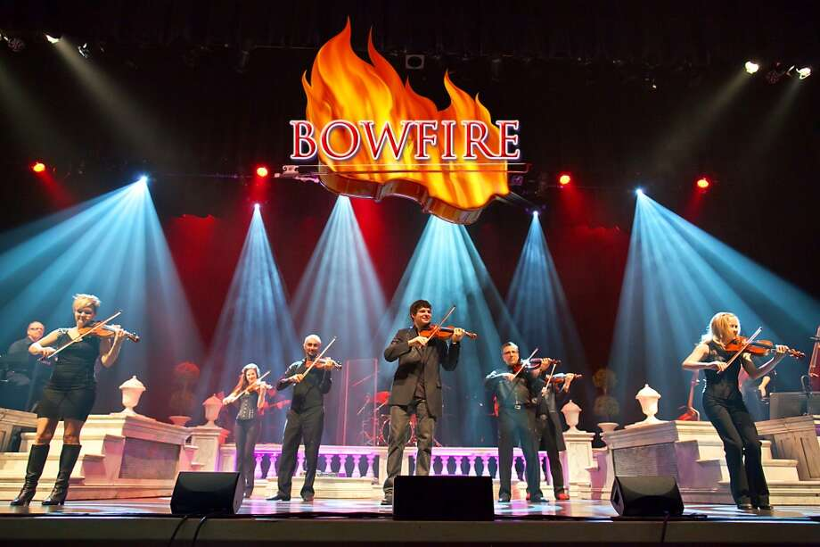Bowfire will perform at the Ridgefield Playhouse on Sunday, March 3, 2013.