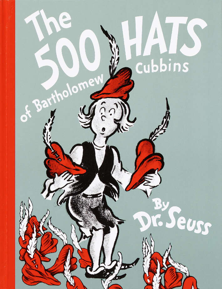 "Dr. Seuss' '500 Hats of Bartholomew Cubbins' hit the bookstores in 1938. The book tells the fable about the little boy in the Robin Hood ""red"" hat with ""the feather that always pointed straight up,"" and the improbable impossibility of doffing it in deference to his king."