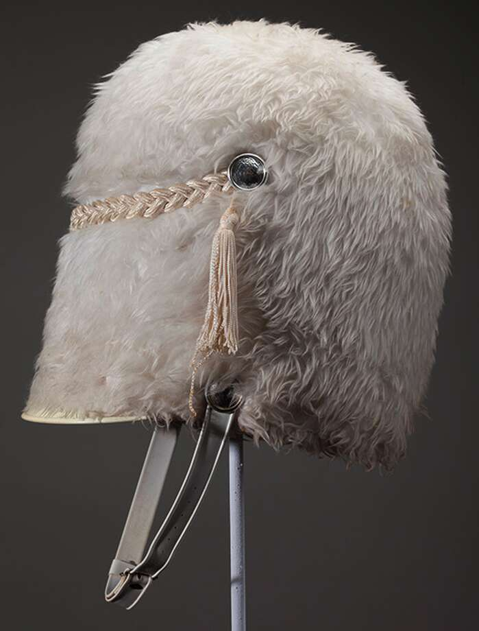 Drum Major's Hat, made by Stanbury Co., Kansas City.