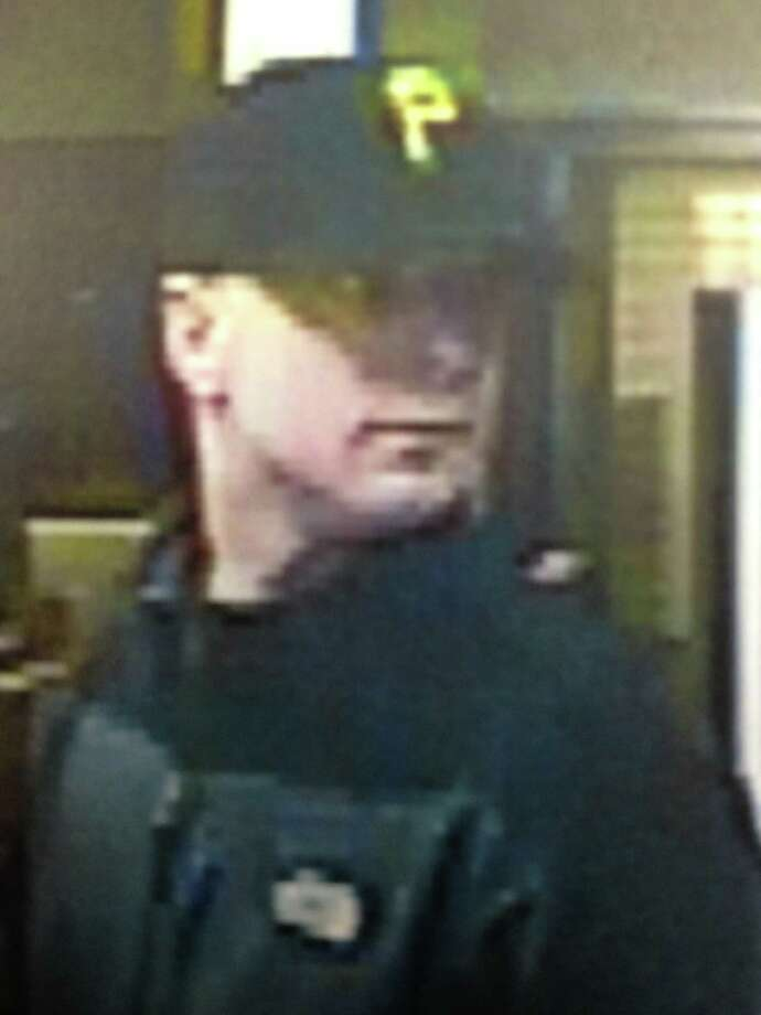 Schenectady police are circulating this photograph of a second possible suspect involved in Friday's Key Bank robbery. (Schenectady police)