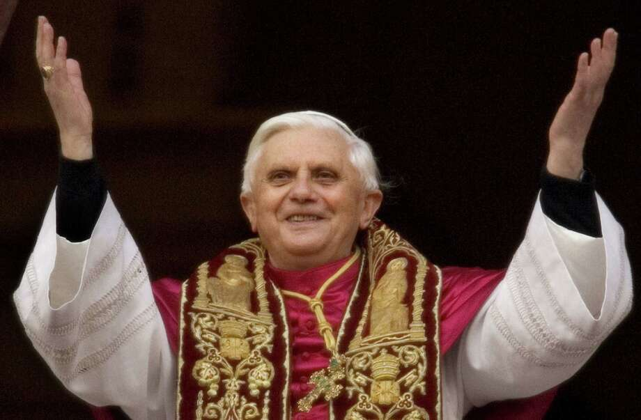 Pope Benedict XVI shares his name with a notorious earlier pope.