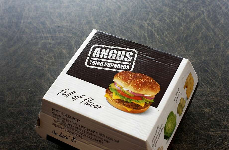 McDonald's may cut out Angus burgers to make room on its menu for more limited-time items. Photo: Charles Rex Arbogast, Associated Press