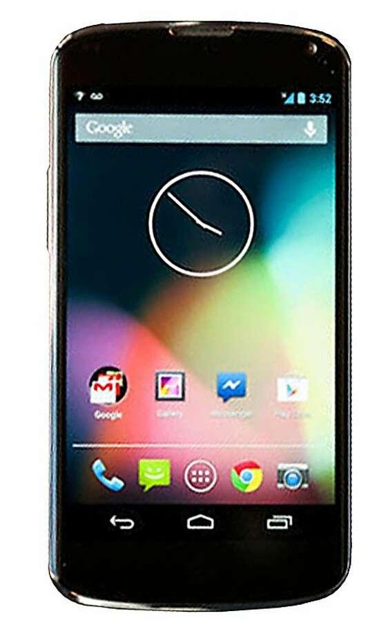 LG Nexus 4 Photo: Cnet Review