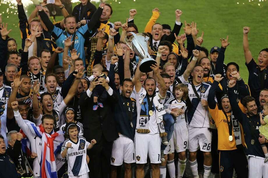 The Galaxy celebrated a second consecutive MLS Cup last season but lost several key players. Photo: James Nielsen, Staff / © Houston Chronicle 2012