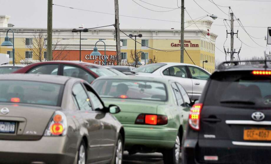 Traffic at the intersection of Rt. 146 and Clifton Country Road in Clifton Park Friday March 1, 2013.  (John Carl D'Annibale / Times Union) Photo: John Carl D'Annibale / 10021386A