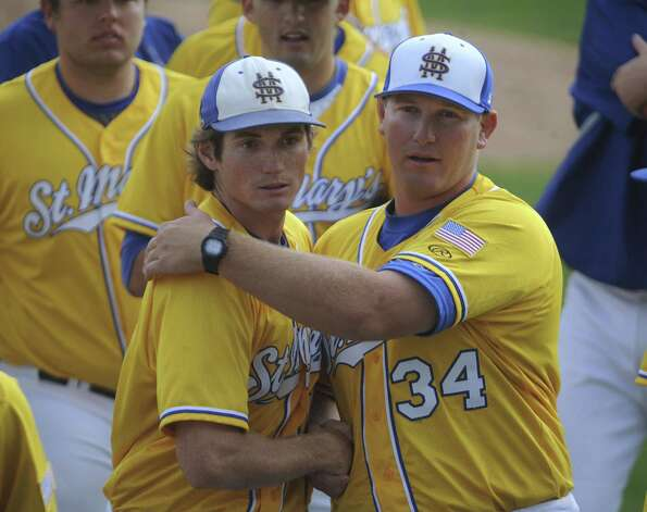 St. Mary's pitcher Carl O'Neal had his 21-game win streak come to an end in a loss at St. Edward's.