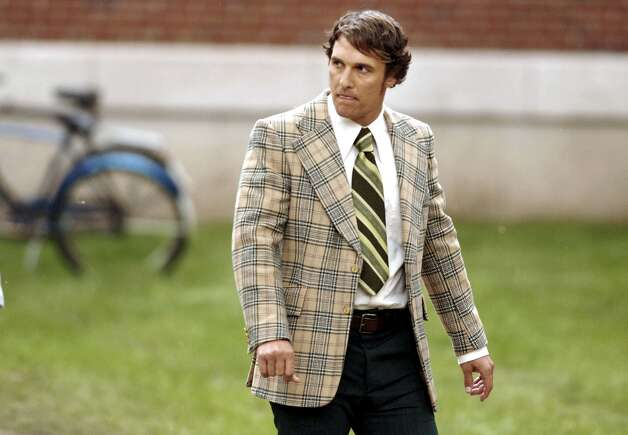 Matthew McConaughey played Marshall University coach Jack Lengyel in 2006's ''We Are Marshall.'' The movie followed the aftermath of the 1970 Marshall University football team plane crash that killed 75 people. McConaughey starred as the man who coached the team for four years after the crash. Photo: Jeff Gentner, Getty Images / 2006 Jeff Gentner