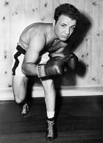 A 1949 portrait of boxer Jake LaMotta. Photo: Keystone-France, Gamma-Keystone Via Getty Images / 1949 Keystone-France