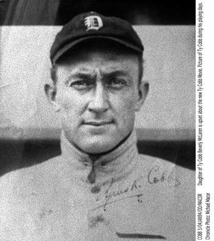 That man being Ty Cobb who was portrayed by Jones in the film ''Cobb'' (1994). Photo: Adfad