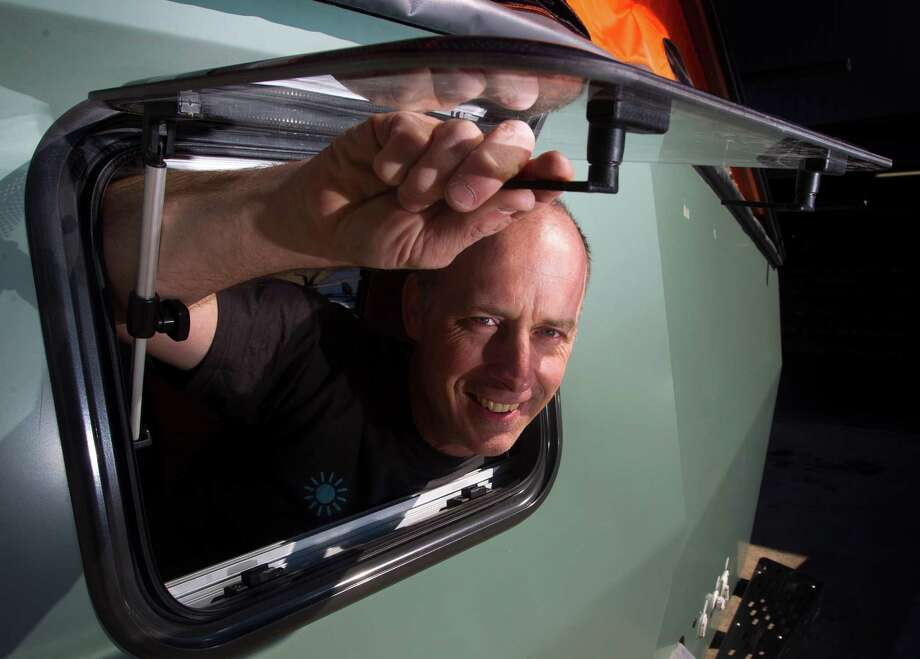 Cricket founder and former NASA designer Garrett Finney created his own camper, and then his own camper company as interest grew in his trailers. Photo: J. Patric Schneider, Freelance / © 2013 Houston Chronicle